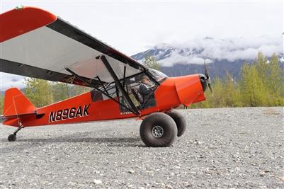 4 Place Pa 18 Fuselage Airframes Alaska