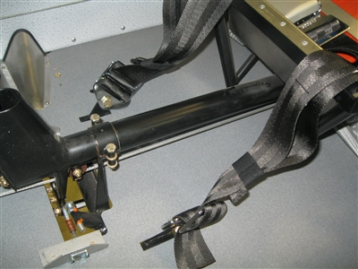 PA-18 Fuselage Mod Floor Seat Belt Attach Points