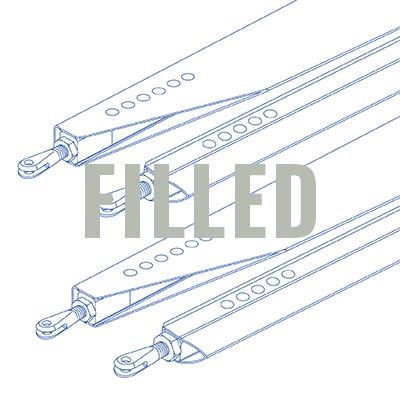 Aluminum Strut Set