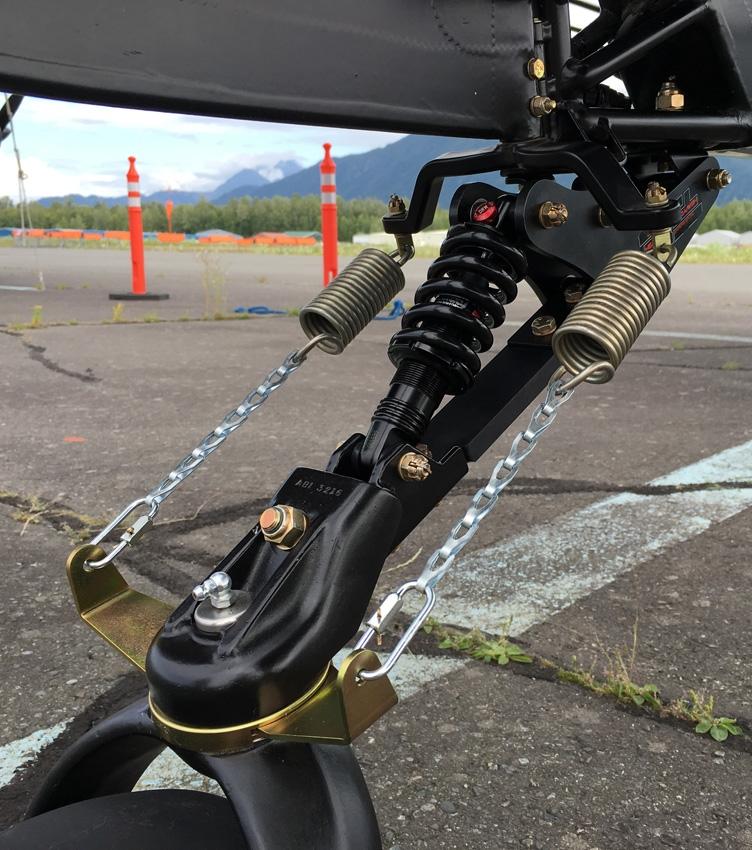 Pa 18 T3 Tailwheel Suspension Airframes Alaska