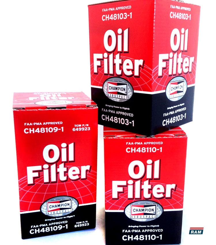 Champion Aerospace Oil Filters   Reeve Air Motive