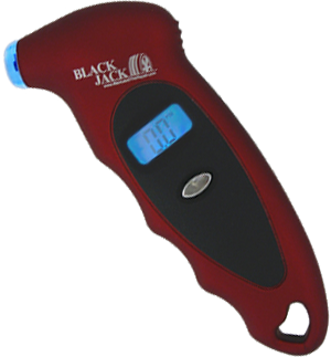 Digital Low Pressure Tire Gauge w/ light