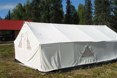 13oz DLX Canvas Wall Tent